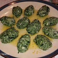 Gnocchi (Quenelle) di Spinaci e Ricotta