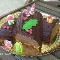 Tronchetto di Natale con crema chocolatine