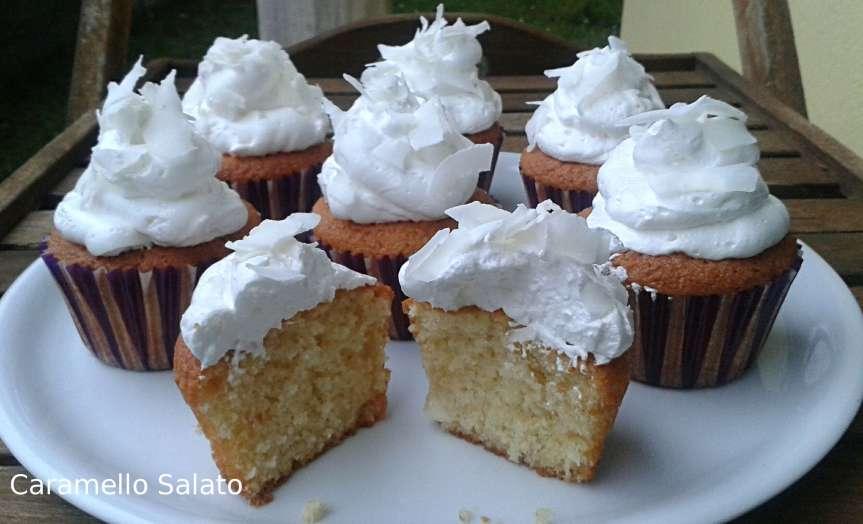 Cupcake al cocco