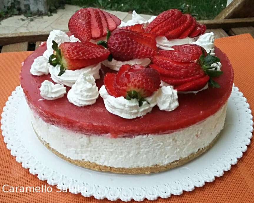 Cheesecake-alle-fragole