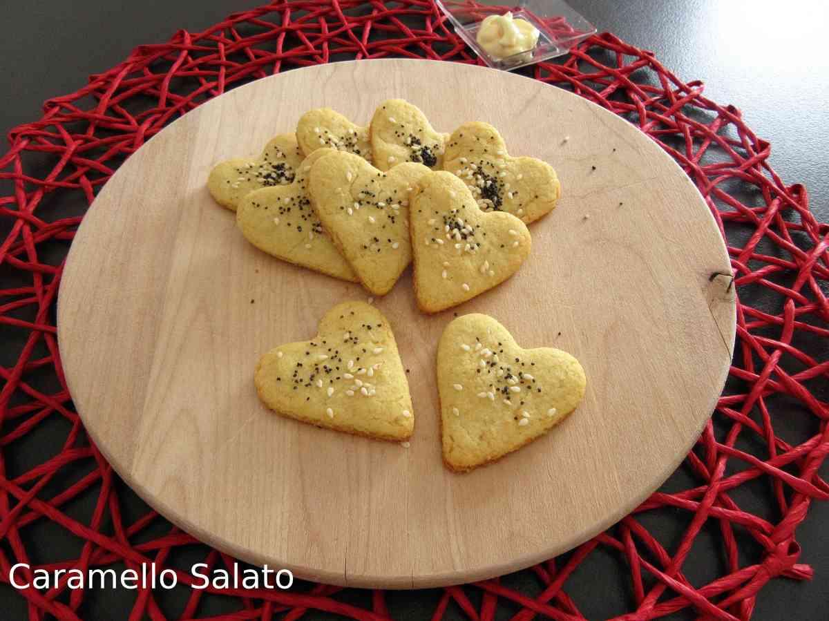 Biscotti salati alla maionese