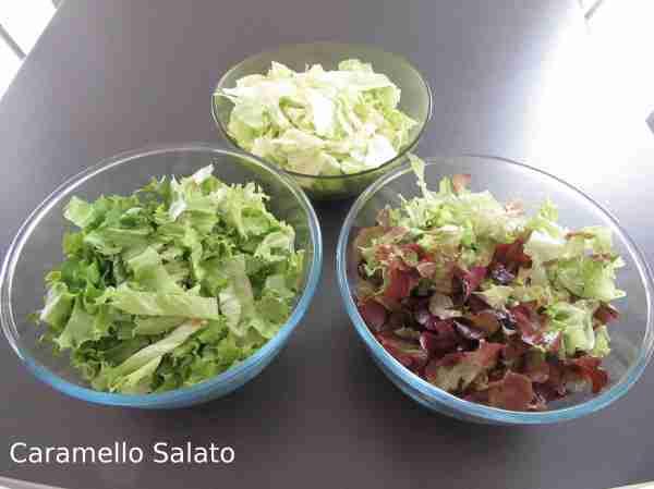 Ricetta insalata con mueslu croccante salato