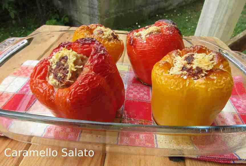 Ricetta peperoni ripieni di carne