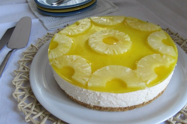 Ricetta Cheesecake all'ananas