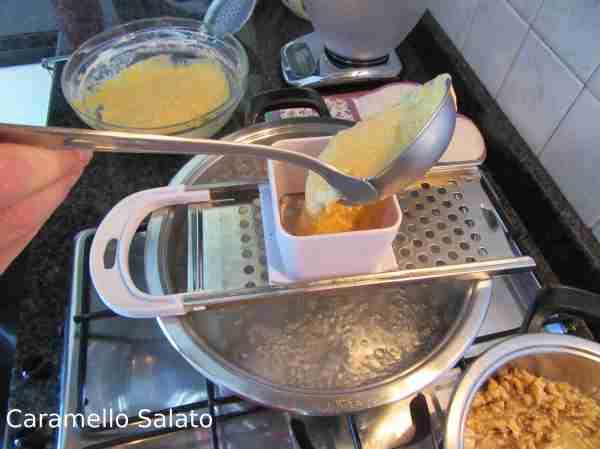 Ricetta Spatzle alla zucca e noci