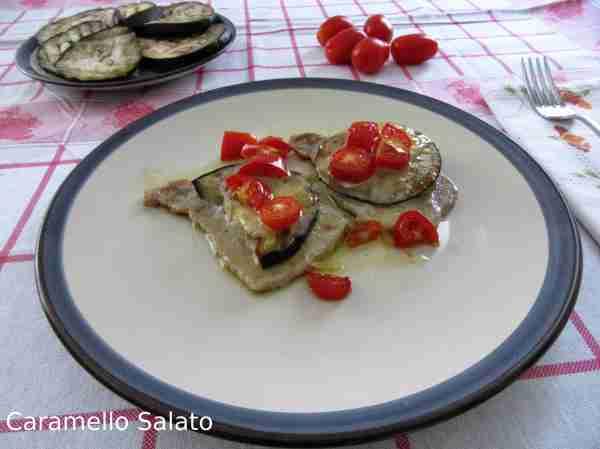 Ricetta scaloppine al forno con verdure