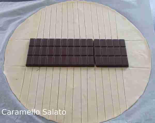 Ricetta Sfoglia intrecciata al cioccolato