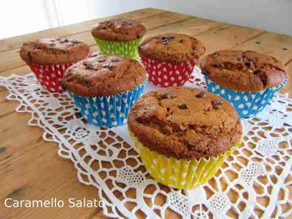 Ed ecco i vostri muffin vegan alla zucca pronti da gustare