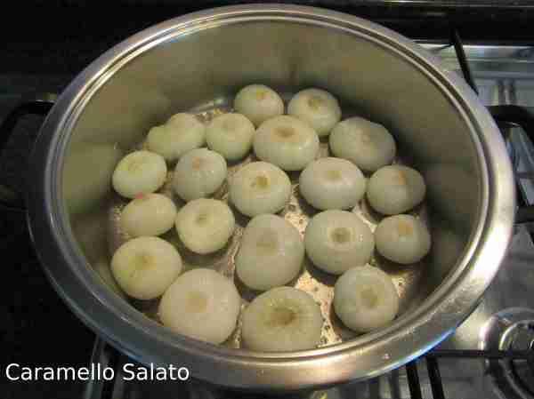 Ricetta cipolline in padella