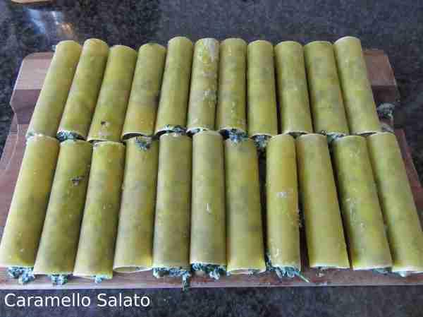 Ricetta cannelloni ricotta e spinaci