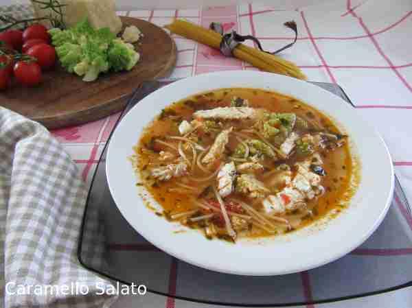 Ricetta minestra di rombo e broccoli