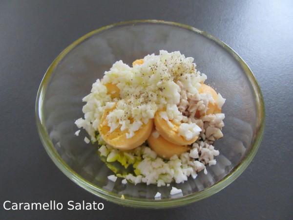 Ricetta asparagi con salsa di uova