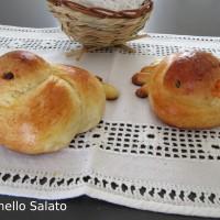 Colombine di pan brioche