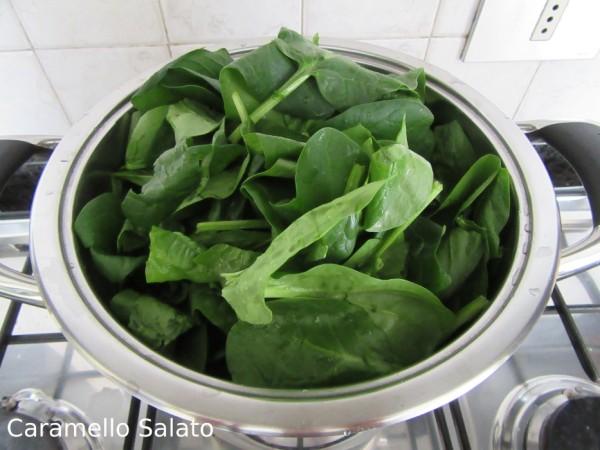 Ricetta Crespelle agli spinaci