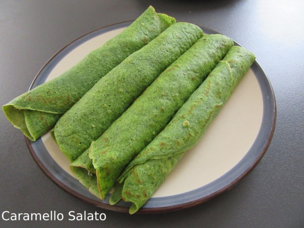 Ricette crespelle vegetariane
