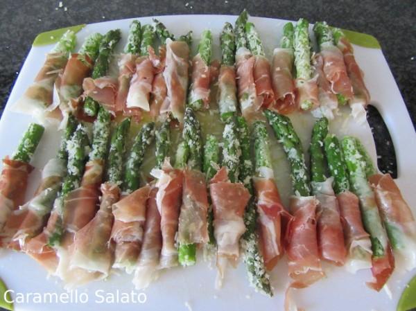 Ricetta cestini di sfoglia con asparagi