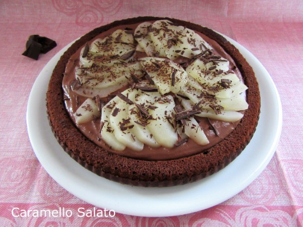 Crostata al cioccolato e pere ricetta