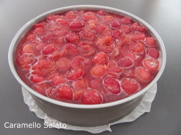Cheesecake alle ciliegie ricetta