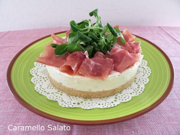 Cheesecake salata ricetta