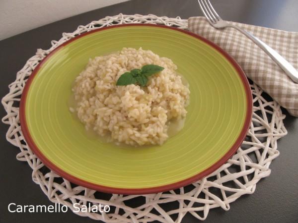 Risotto ai cetrioli ricetta