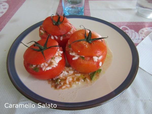 Pomodori ripieni di riso ricetta
