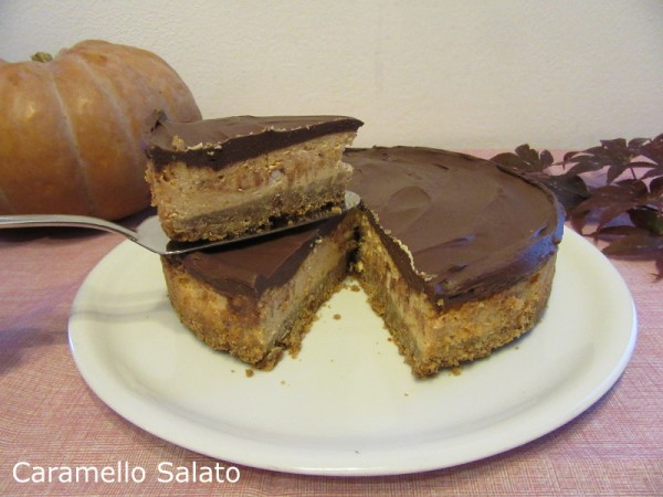 Cheesecake alla zucca ricetta