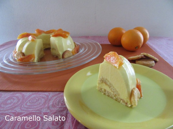 Bavarese all'arancia ricetta
