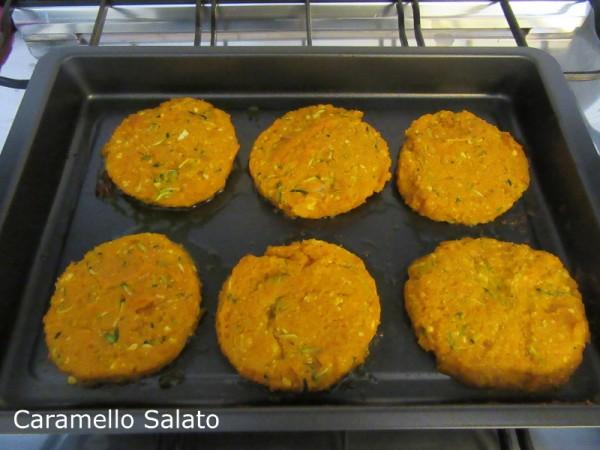 Hamburger di zucca e zucchine ricetta
