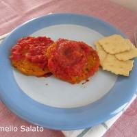 Hamburger di zucca e zucchine