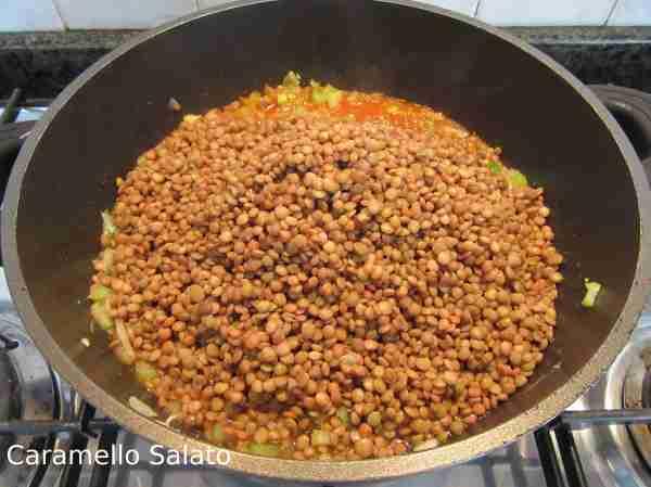Ricetta Lenticchie in umido