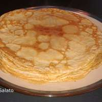 Crepes ricetta base (dolci e salate)