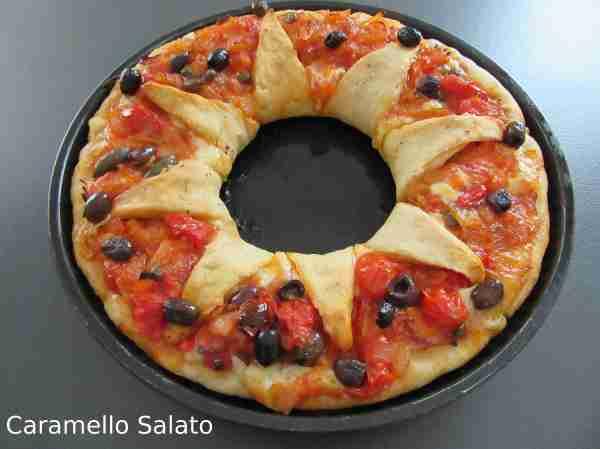 Ricetta pizza a fiore