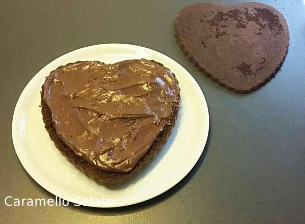 Ricetta torta a cuore al cioccolato