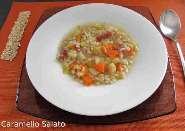 Ricetta zuppa di orzo