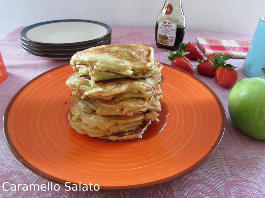 Ricetta Pancake alle mele
