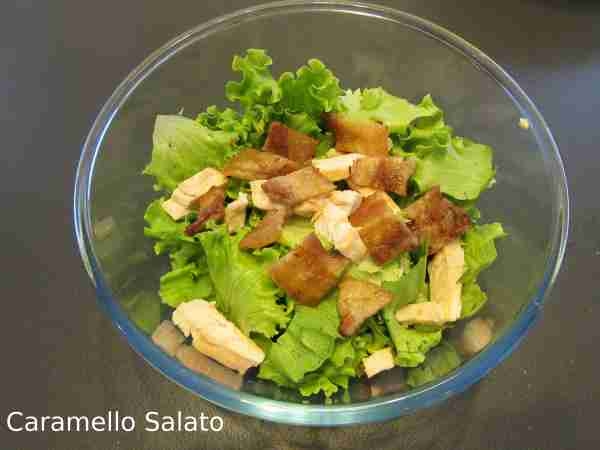 Ricetta Caesar Salad
