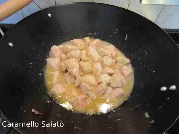 Ricetta Bocconcini di pollo all'arancia