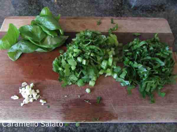 Ricetta minestra di verdura e semolino