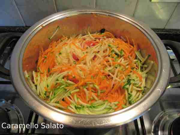 Ricetta Minestra di verdure e semolino